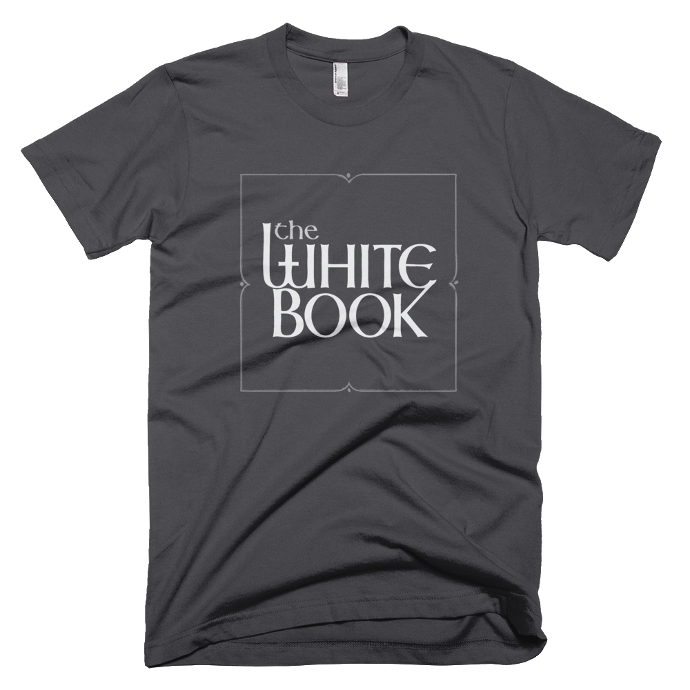Classic White Book Podcast T-Shirt