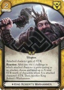 King Robert's Warhammer