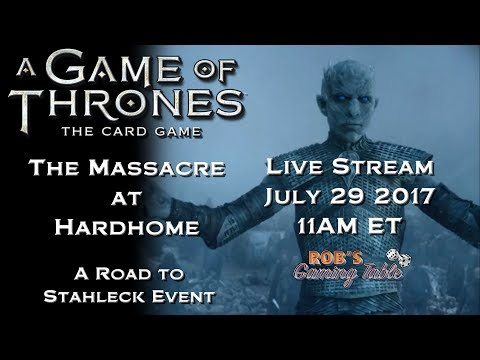 Game of Thrones: Card Game - The Massacre at Hardhome Live